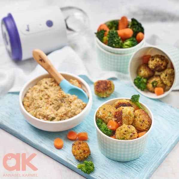 Annabel Karmel Chicken 2 Ways baby weaning recipe
