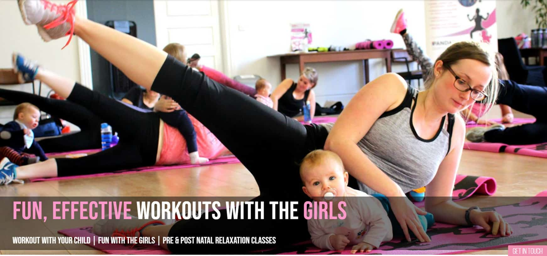 Mum and baby exercise