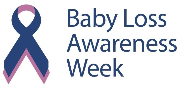 baby loss awareness week log